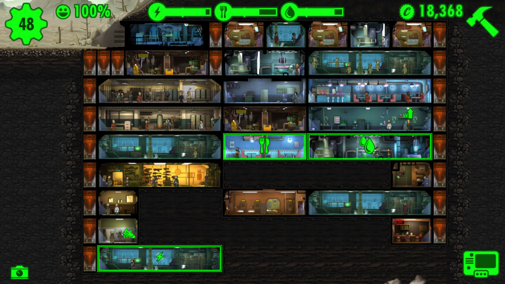 My failures in fallout shelter part 2 illgaming for Best house designs fallout 4