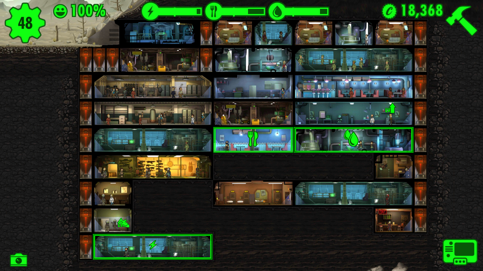 Fallout shelter 1 7 2