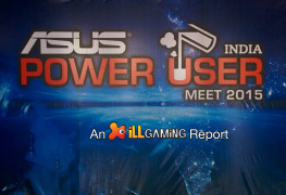 iLL at Asus India Power User Meet 2015