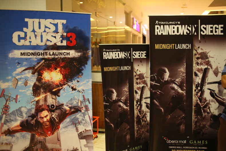 iLL at Just Cause 3 and Rainbow Six Siege Midnight Launch