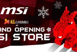 iLL at MSI Store Mumbai Opening