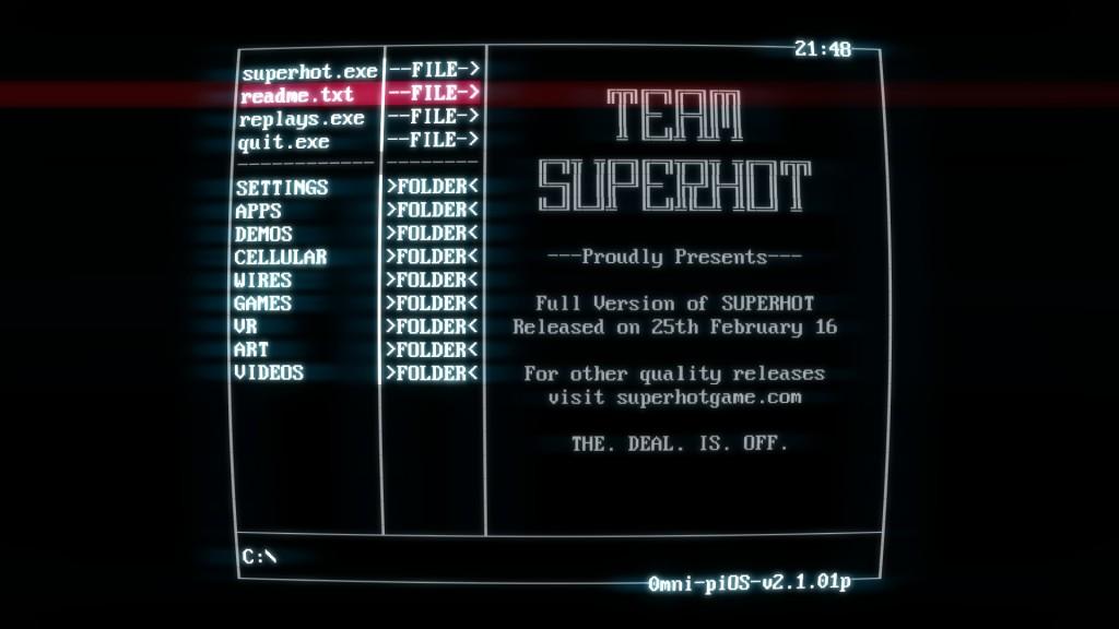SUPERHOT Review