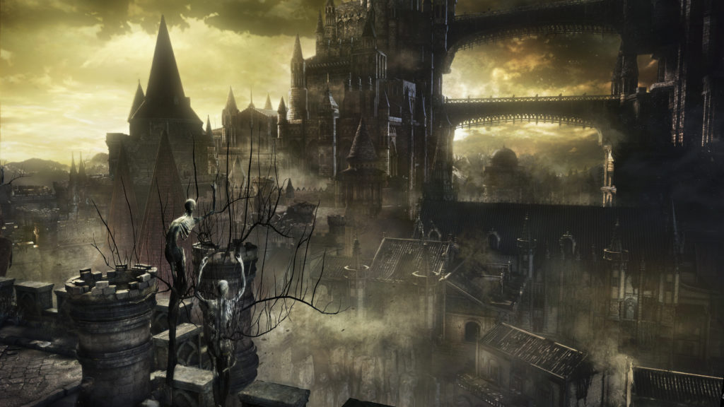 Welcome to Lothric, hope you have a pleasant stay.