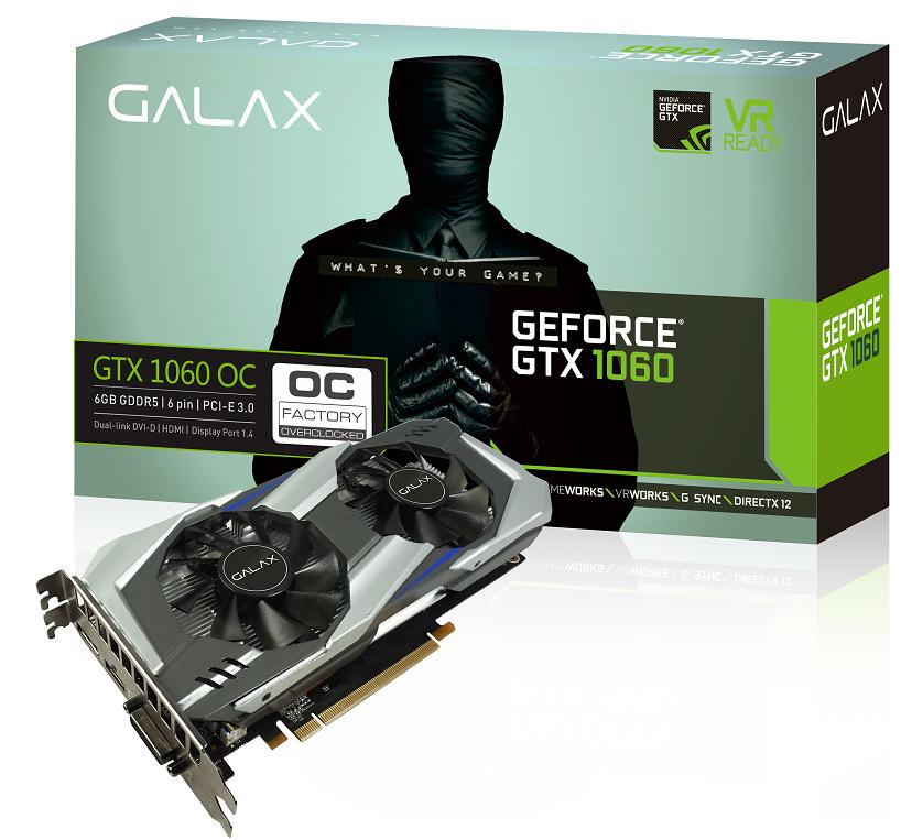 GALAX GeForce GTX 1060 OC