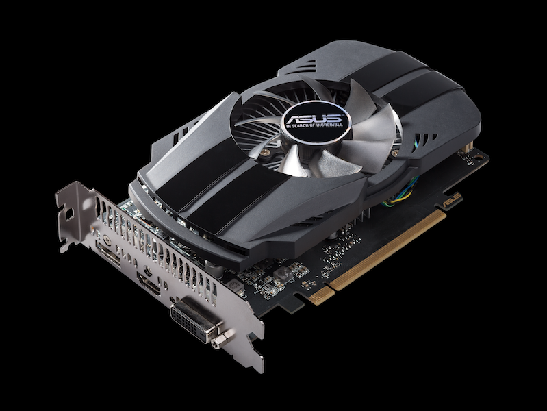 The ASUS GeForce GTX 1050 Ti