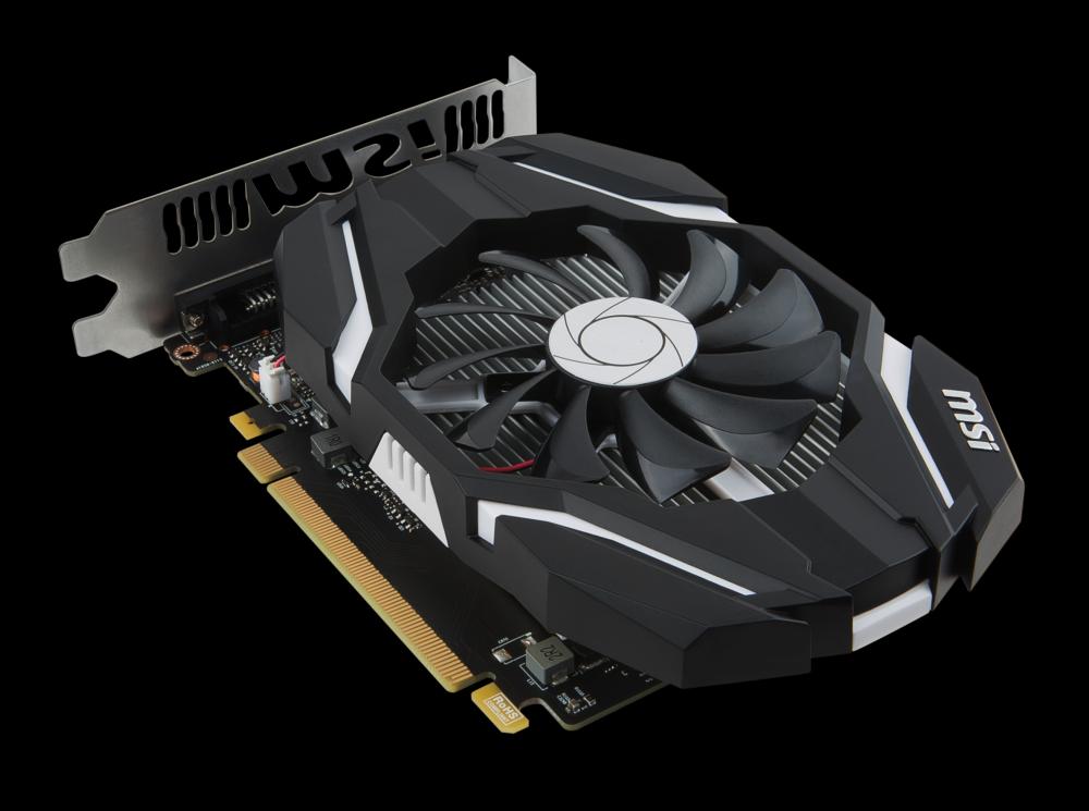 The MSI GeForce GTX 1050