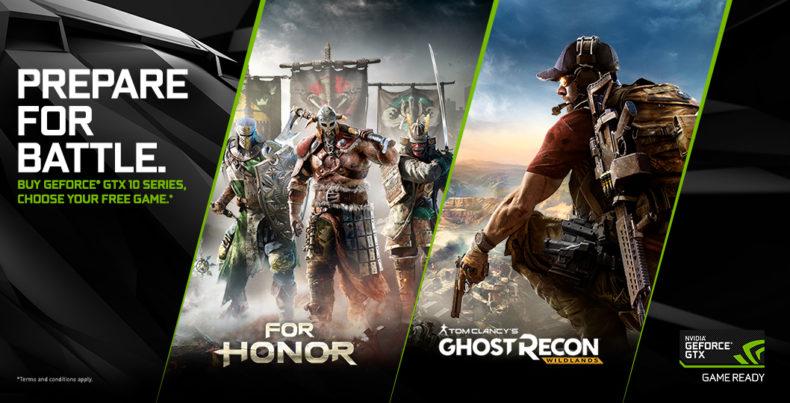 Nvidia GeForce For Honor Wildlands Bundle